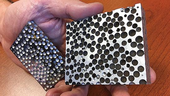 比防彈衣強 新發明金屬泡沬可粉碎子彈