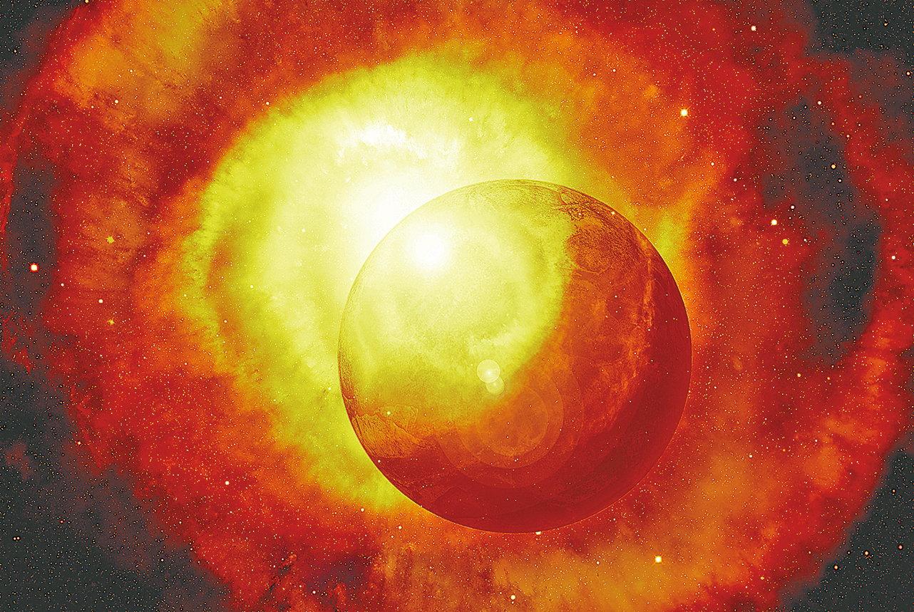 哈佛大學的一組物理學家發現,不穩定的希格斯玻色子有可能產生一次瞬時大爆炸,就像宇宙起始那樣瞬間撕裂整個宇宙,而不是慢慢燃燒幾萬億年。(Creative Commons)