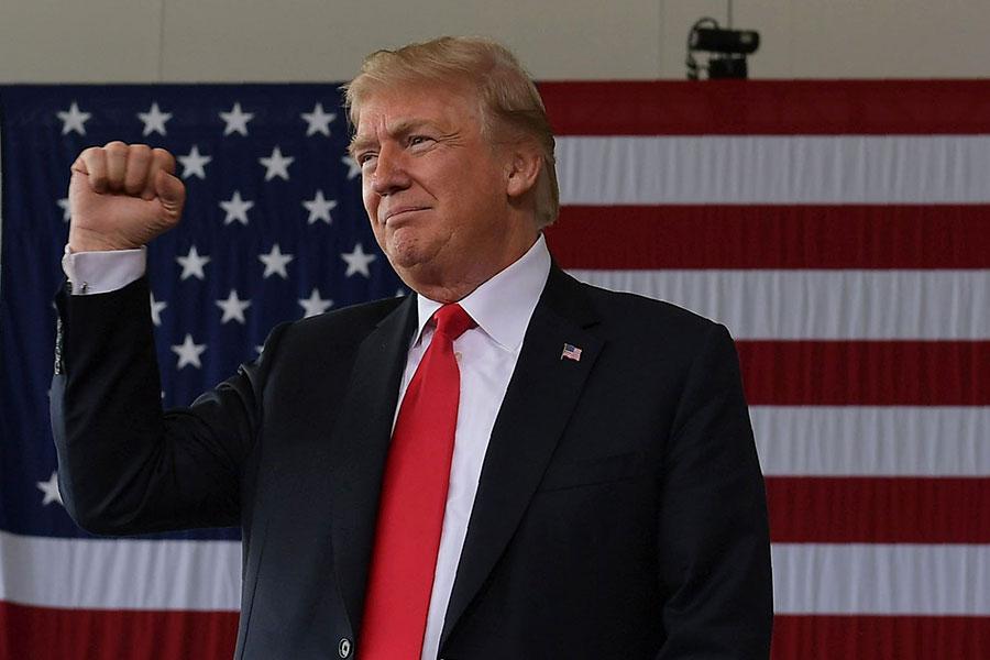 美國總統特朗普。(MANDEL NGAN / AFP)