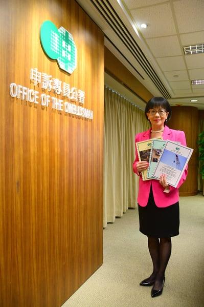 申訴專員劉燕卿強調,絕對不認同食環署人員進行冷氣機測試時「靠估」的做法。(申訴專員公署)