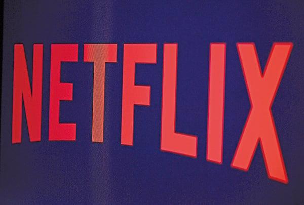 網絡隨選串流影片供應商奈飛網(Netflix)公佈首季獲利符合市場預期,用戶增長快於預期,4月16日盤後股價漲6%。累計今年已漲60%。(AFP)