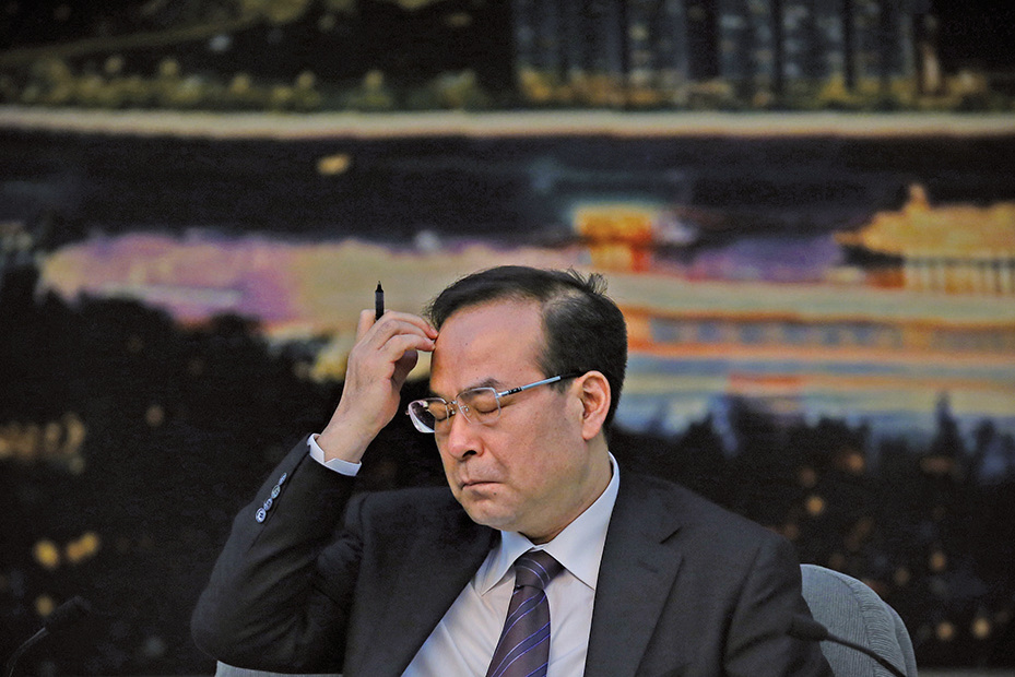 孫政才貪腐罪行嚴重,預料將被判「死緩」。(Getty Images)