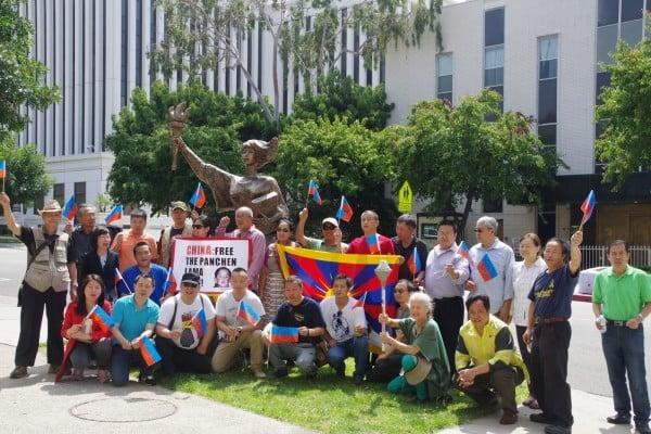 「中共國家恐怖主義暴行展」洛杉磯啟程