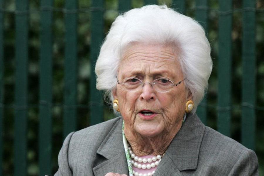 老布殊夫人芭芭拉辭世 各界政要緬懷