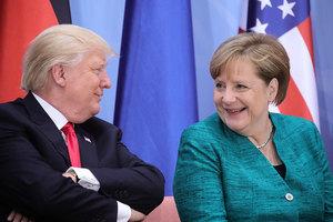 白宮宣佈德國總理默克爾4月27日訪美