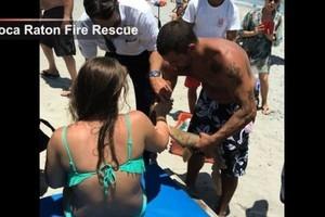 緊咬手臂不鬆口 美國女子帶鯊魚一起就醫