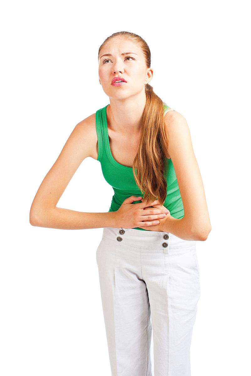 早期卵巢癌難察覺,若出現腹脹、腹痛、下肢浮腫、體重下降等,最好做骨盆腔檢查。(fotolia)