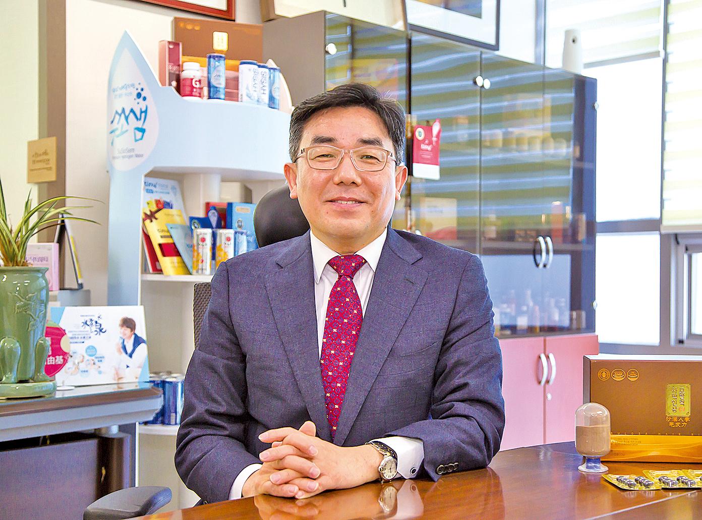 愛多特總經理李城杓。