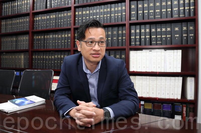 法政匯思召集人吳宗鑾近日接受本報專訪,談香港法治現狀。(李逸/大紀元)