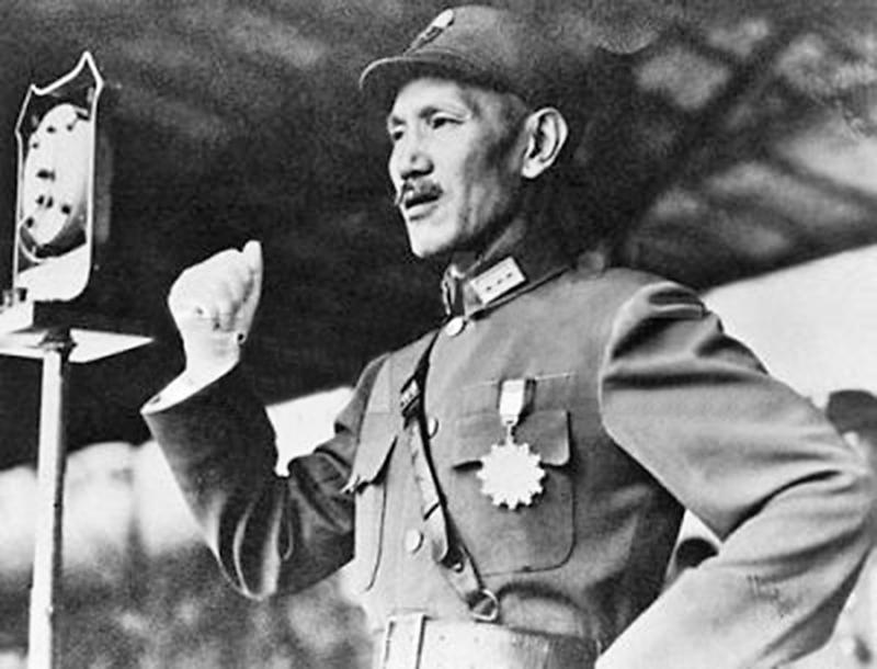 1937年7月19日,「盧溝橋事變」後,蔣中正於廬山發表「最後關頭」演說,宣告對日抗戰開始。(大紀元資料庫)