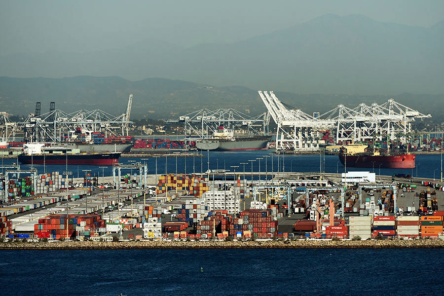 美國質疑中遠收購加州長灘貨運港口