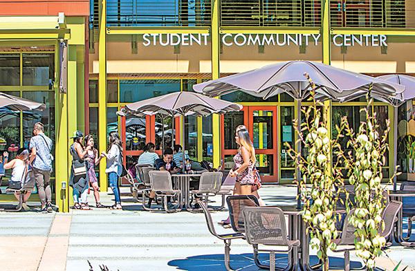 美國加州大學戴維斯分校(University of California, Davis)校園一景。(大紀元資料圖片)