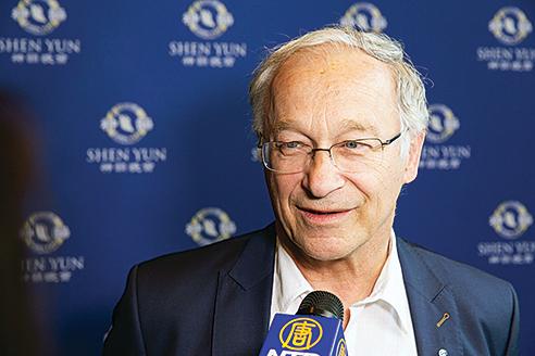 德國國會議員Martin Patzelt。(Mathias Kehrein/大紀元)