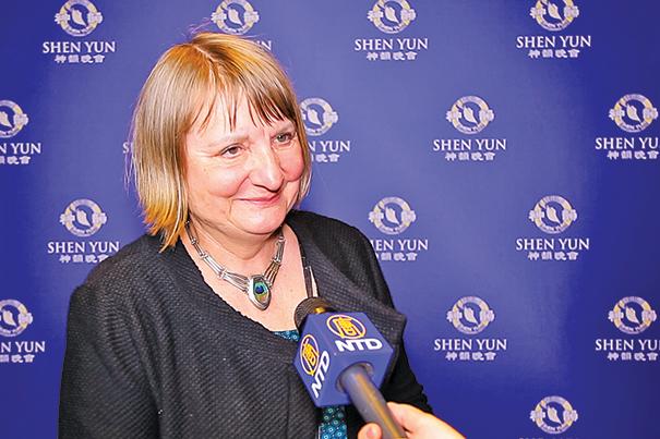 德國政治家、專欄作家Vera Lengsfeld。( 新唐人電視台)