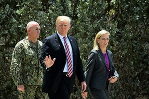 特朗普:結束北韓核危機還有很長路要走