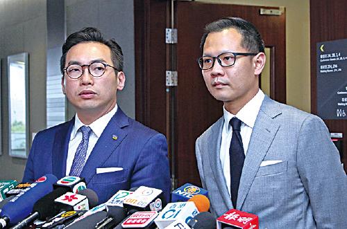 公民黨黨魁楊岳橋指,大灣區之行期間,大陸城市的官員都表示香港有大陸沒有的優勢,他強調這些優勢正是來自「一國兩制」。(蔡雯文/大紀元)