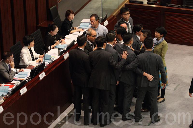 一地兩檢委員會兩度暫停會議