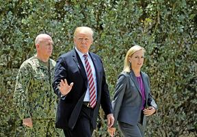 特朗普不以放寬制裁換棄核武