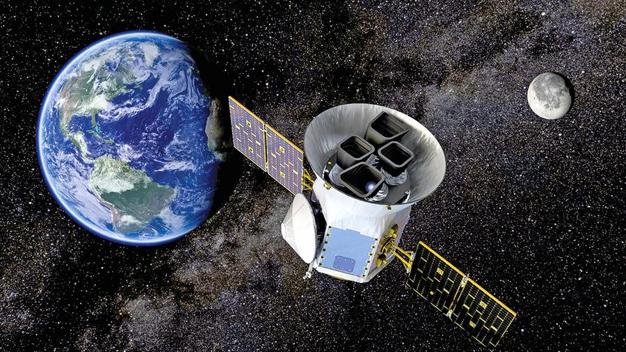 SpaceX成功送 TESS望遠鏡進軌道