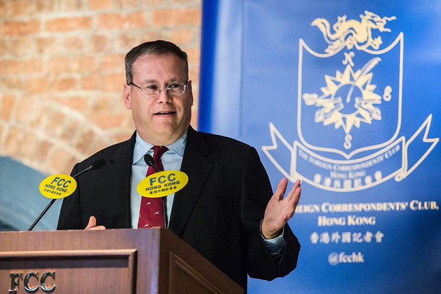 美駐港澳總領事:中共違反合同 改革倒退