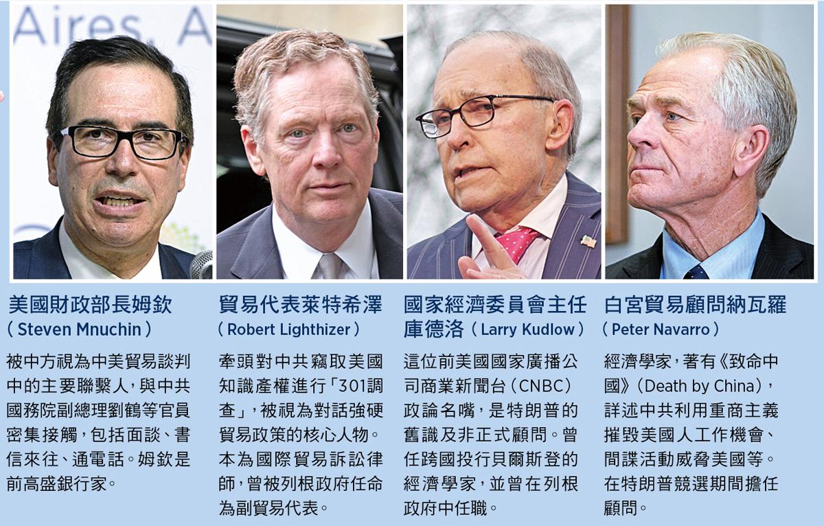 美國總統特朗普將派遣「超級團隊」訪華,尋求與中共解決兩國的貿易糾紛。(Getty Images/大紀元合成)