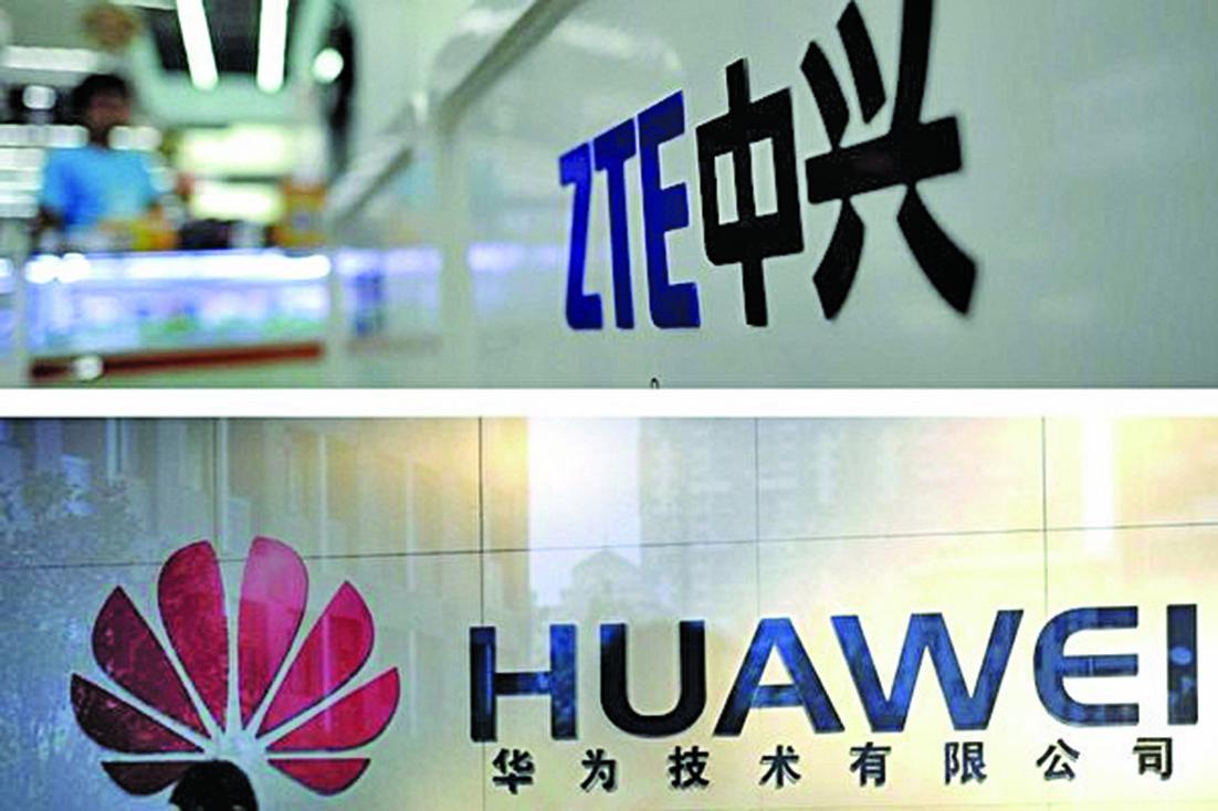 因中國的高科技公司背後或有中共支持的商業間諜活動,美國國會擬立新法停止美國企業與華為、中興的所有交易。(Getty Images)