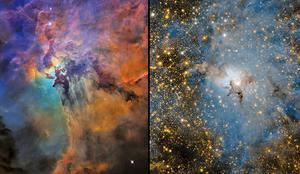 NASA影片帶你深入礁湖星雲 訪星星故鄉