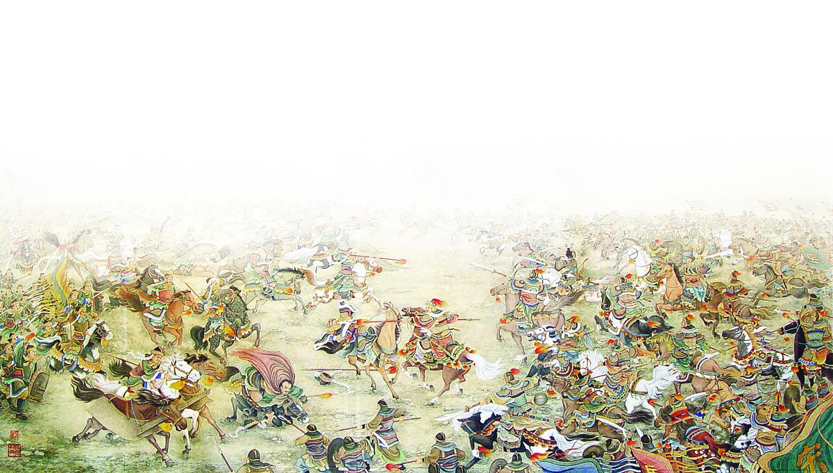 王雙寬作品《氣蓋山河》