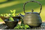 傳說喝「穀雨茶」清火、辟邪、明目。 (公有領域)