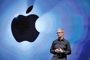 iPhone銷售轉差  蘋果公司股價破50日均線