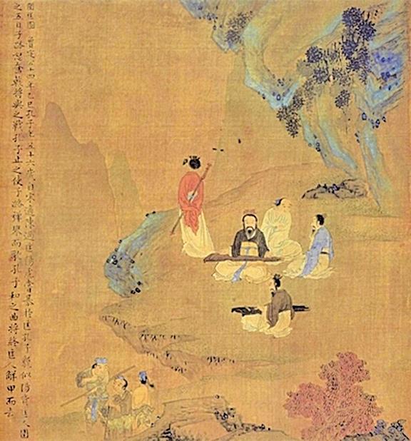 《孔子聖蹟圖》圍匡圖( 公有領域)