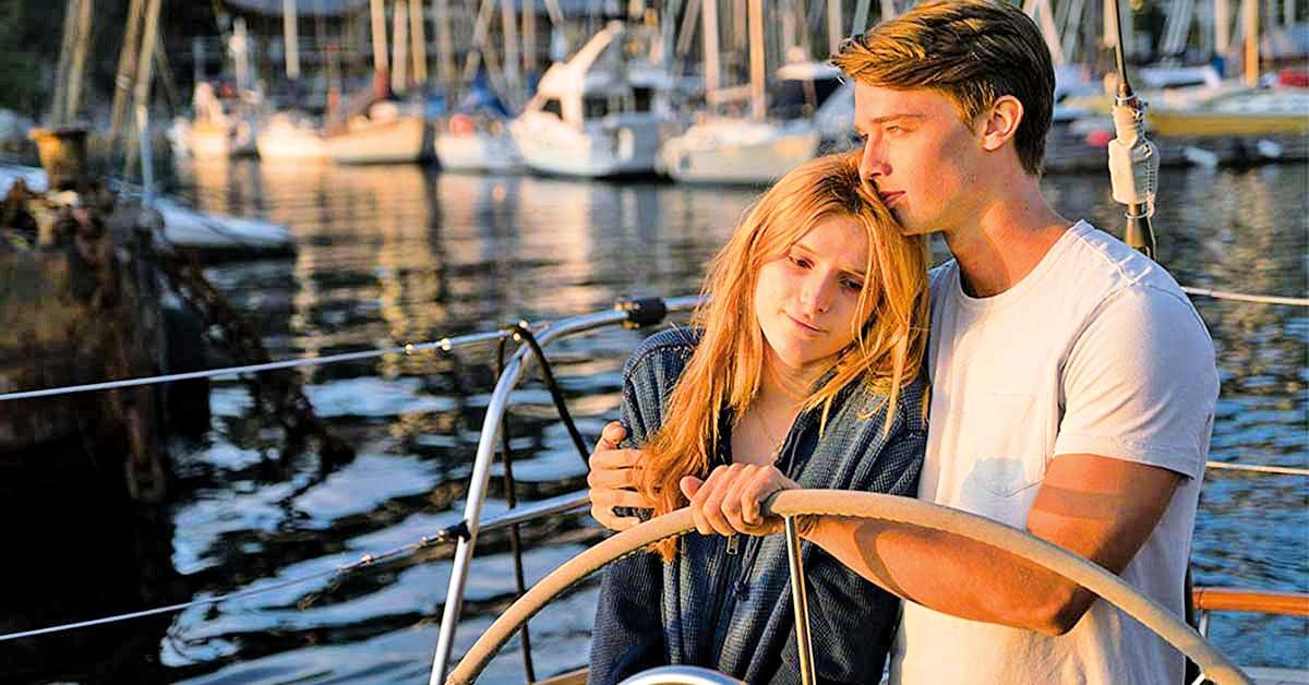 遊艇上,姬蒂在陽光下歡笑,和相愛的人擁抱──這只是她一個美好的夢。