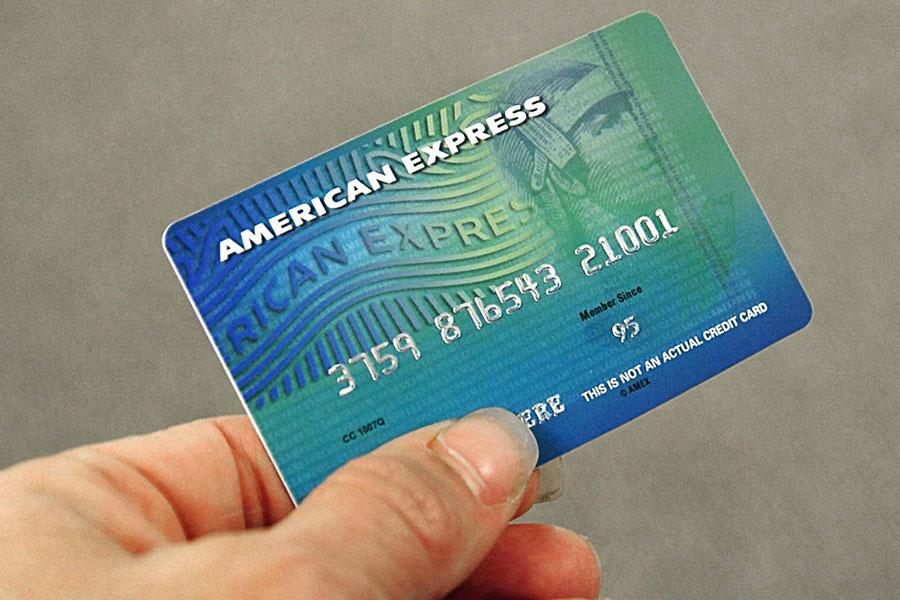 美國運通(American Express)清除了進軍中國的路障,可能成為首個獲准在中國市場服務的美國信用卡公司。(KAREN BLEIER/AFP/Getty Images)