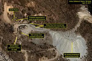 大陸專家曝北韓豐溪里核試驗場山體現大洞