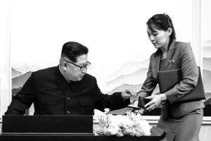 怕中毒?文金會金正恩用妹妹準備的筆簽字