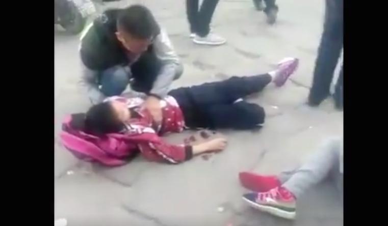 陝西發生砍殺初中生事件釀九死 現場慘烈