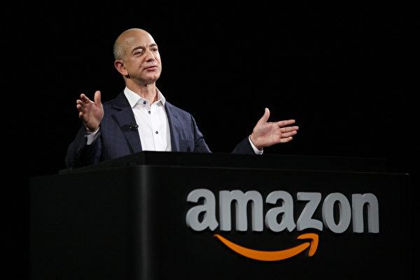 亞馬遜公司的創辦人兼總裁傑夫・貝佐斯(Jeff Bezos)。(David McNew/Getty Images)
