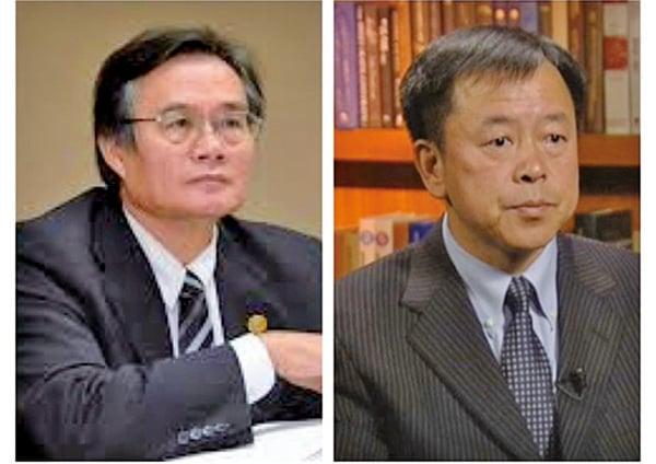 專家翁明賢(左)和李恆青(右)。(大紀元合成圖)