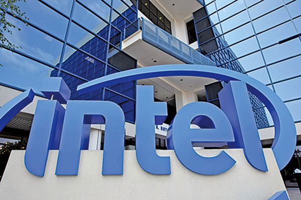 英特爾公司位於美國加州的總部。(Getty Images)