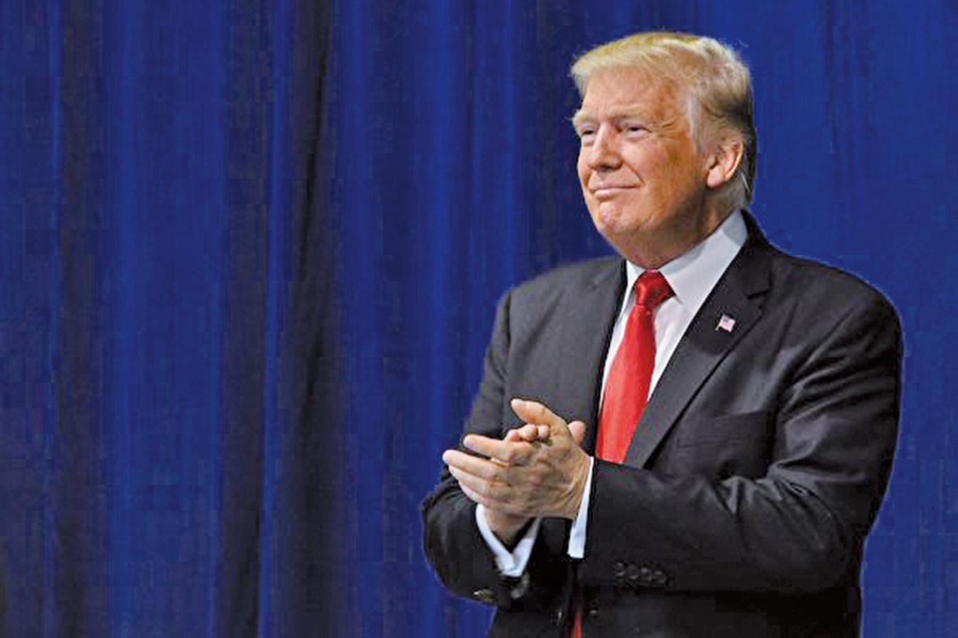 美國國會眾議院情報委員會的調查指出,沒有證據表明特朗普總統的競選陣營與俄羅斯有勾結或共謀。(AFP)