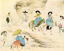 中國的情人節原來不是七夕 久已失傳了的上巳節