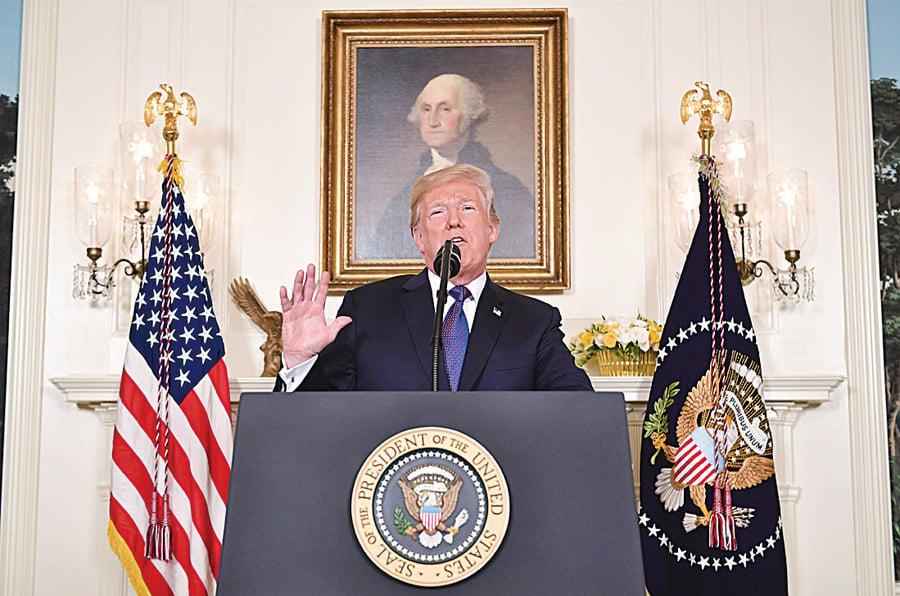 特朗普打擊敘利亞 確立戰後國際新秩序