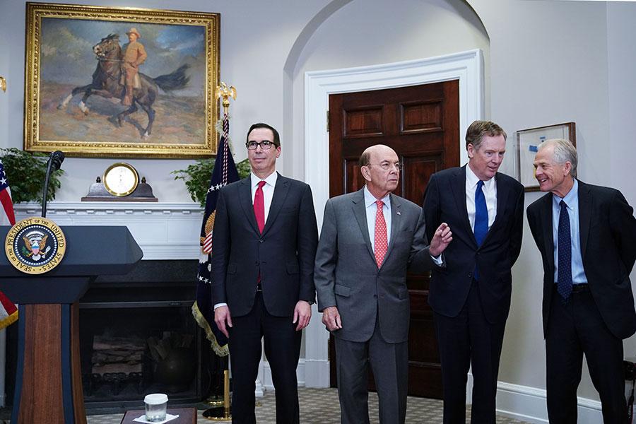 專家表示,中美48小時談判不太可能產生任何具體成果,但至少把中共國家資本主義,在經貿上設置的主要障礙以及反競爭的做法擺上桌面來談。(MANDEL NGAN/AFP/Getty Images)
