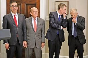 美將派貿易代表團訪華 中方面臨強勁經貿談判