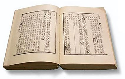 《易經》,複刻本。(Cooltoye/維基百科)