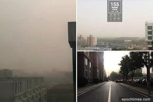「五一」小長假 北京塵霾污染PM10高達637