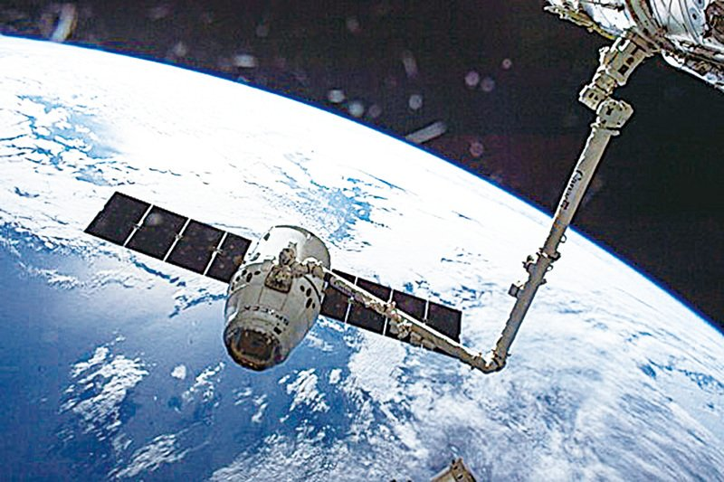 從宇宙飛船上看地球 (NASA)