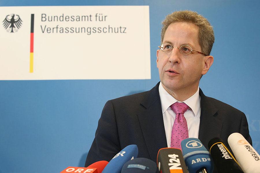 德國聯邦憲法保衛局局長馬森日前提出警告,中資收購德企恐危害國家安全。(Sean Gallup/Getty Images)