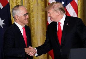 特朗普11月或訪澳洲 澳兩大黨表歡迎