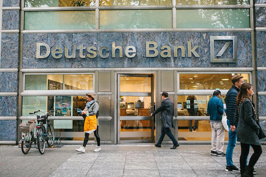 德意志銀行在復活節前出現一次錯誤匯款,涉及金額為280億歐元。(iStock.com/franz12)